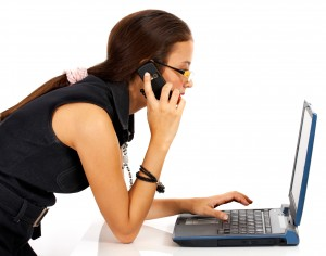 Make direct contact to resolve an email issue.