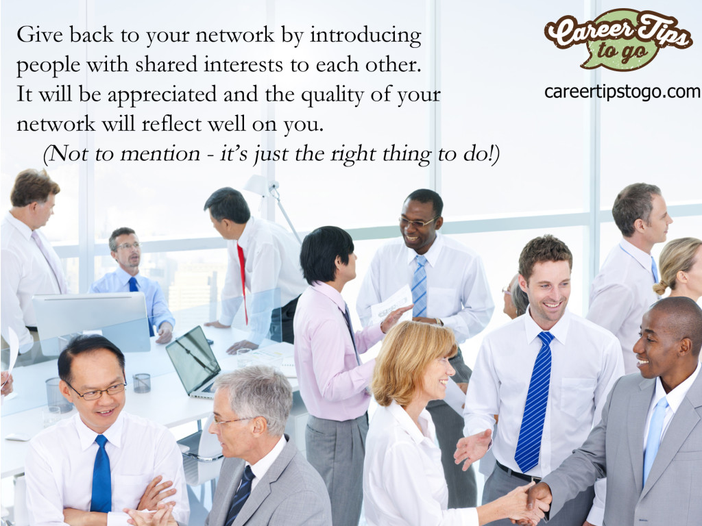 Introduce your network to each other
